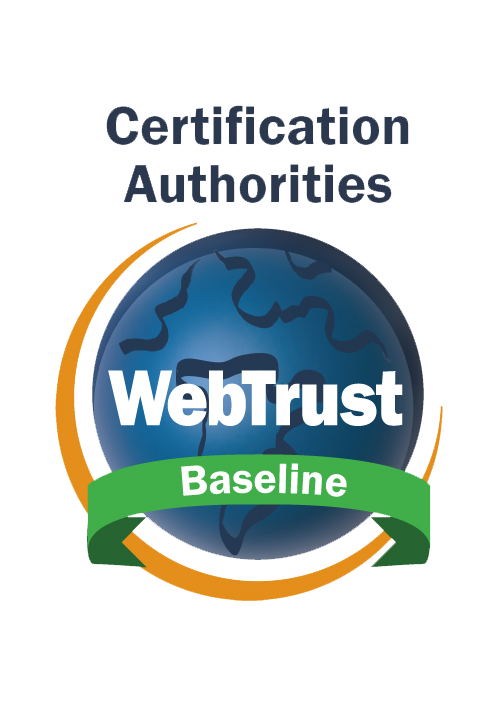 WebTrust for Certification Authorities - SSL Baseline Requirementswith Network Security